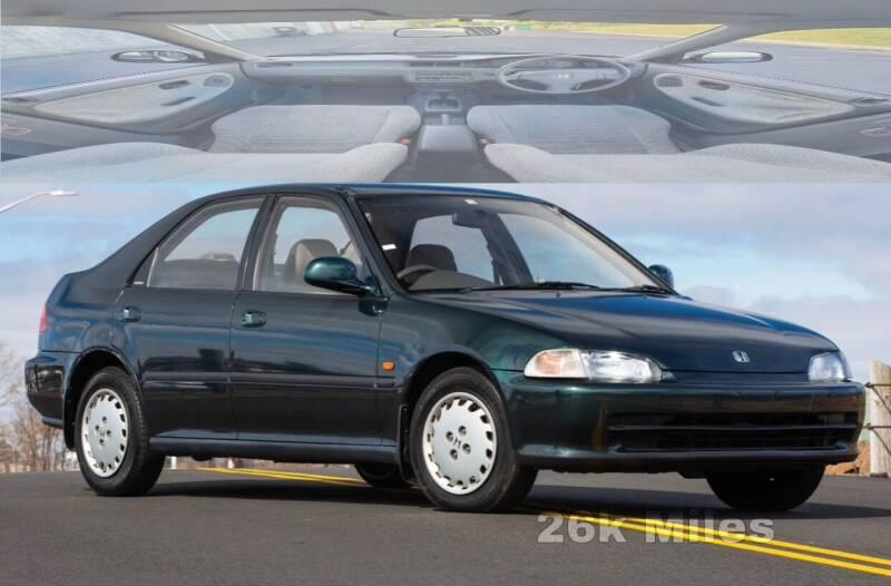 1992 Honda Civic for sale at Apex Autos Inc. in Fredericksburg VA
