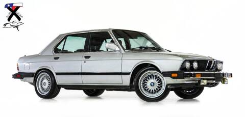 1986 BMW 5 Series for sale at TX Auto Group in Houston TX