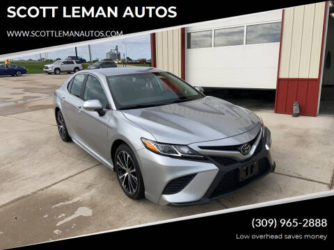 2020 Toyota Camry for sale at SCOTT LEMAN AUTOS in Goodfield IL