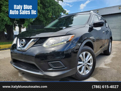 2016 Nissan Rogue for sale at Italy Blue Auto Sales llc in Miami FL
