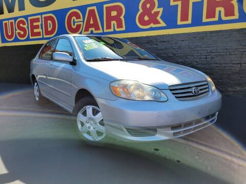 2003 Toyota Corolla for sale at B & R Motor Sales in Chicago IL