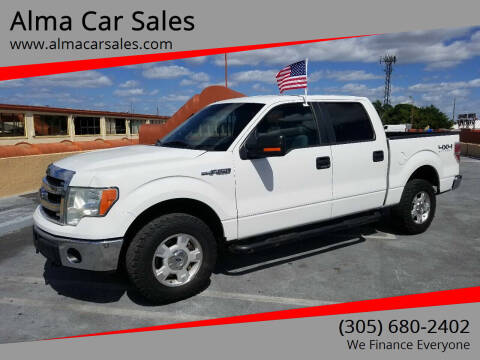 2014 Ford F-150 for sale at Alma Car Sales in Miami FL