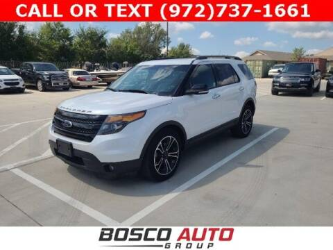2014 Ford Explorer for sale at Bosco Auto Group in Flower Mound TX