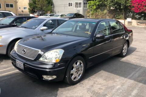 2003 Lexus LS 430 for sale at Eden Motor Group in Los Angeles CA