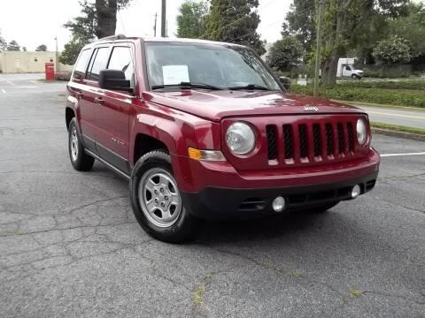 2012 Jeep Patriot for sale at CORTEZ AUTO SALES INC in Marietta GA
