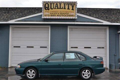 1999 Subaru Legacy for sale at Quality Pre-Owned Automotive in Cuba MO