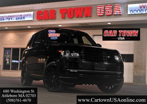 2014 Land Rover Range Rover for sale at Car Town USA in Attleboro MA