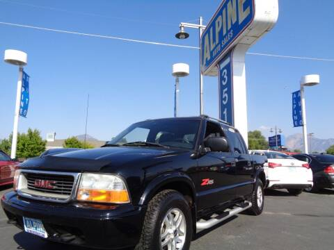 2002 GMC Sonoma for sale at Alpine Auto Sales in Salt Lake City UT