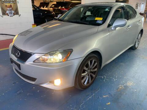 2007 Lexus IS 250 for sale at JerseyMotorsInc.com in Teterboro NJ