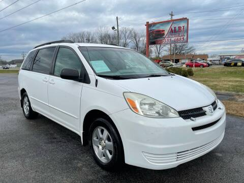 2004 Toyota Sienna for sale at Albi Auto Sales LLC in Louisville KY