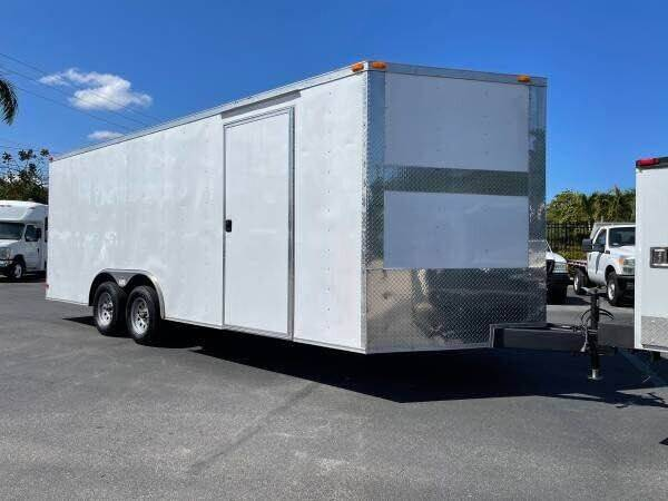 2018 Enclosed  Cargo Trailer for sale at Town Cars Auto Sales in West Palm Beach FL