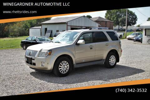 2011 Mercury Mariner for sale at WINEGARDNER AUTOMOTIVE LLC in New Lexington OH