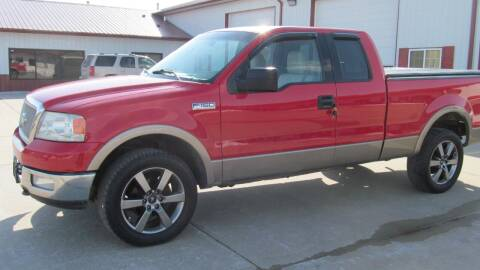 2004 Ford F-150 for sale at New Horizons Auto Center in Council Bluffs IA