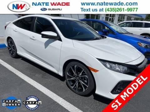 2019 Honda Civic for sale at NATE WADE SUBARU in Salt Lake City UT