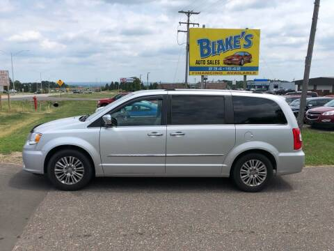 2012 Chrysler Town and Country for sale at Blake's Auto Sales in Rice Lake WI