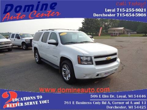 2013 Chevrolet Suburban for sale at Domine Auto Center in Loyal WI