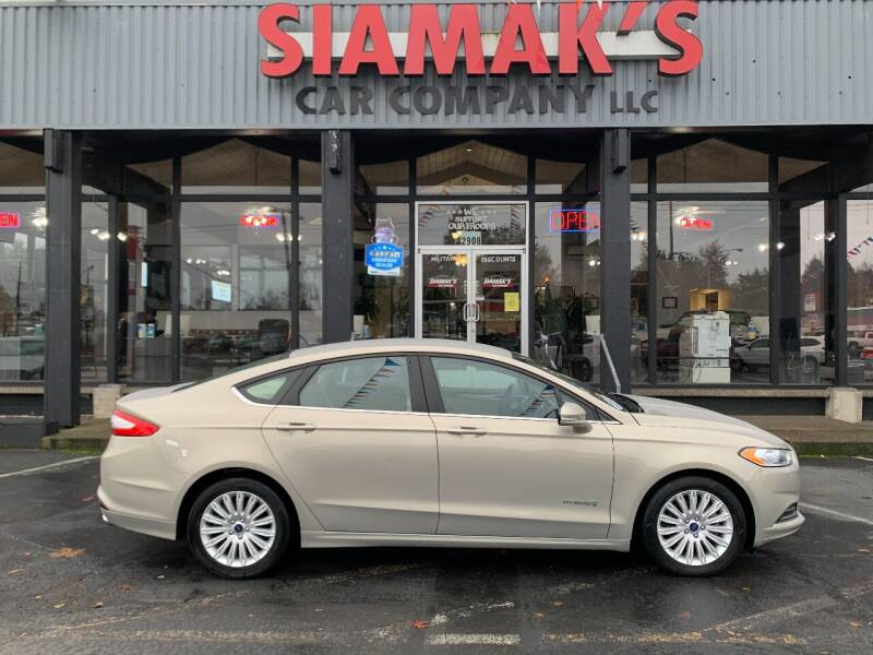 2016 Ford Fusion Hybrid for sale at Siamak's Car Company llc in Salem OR