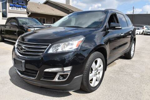2017 Chevrolet Traverse for sale at IMD Motors in Richardson TX