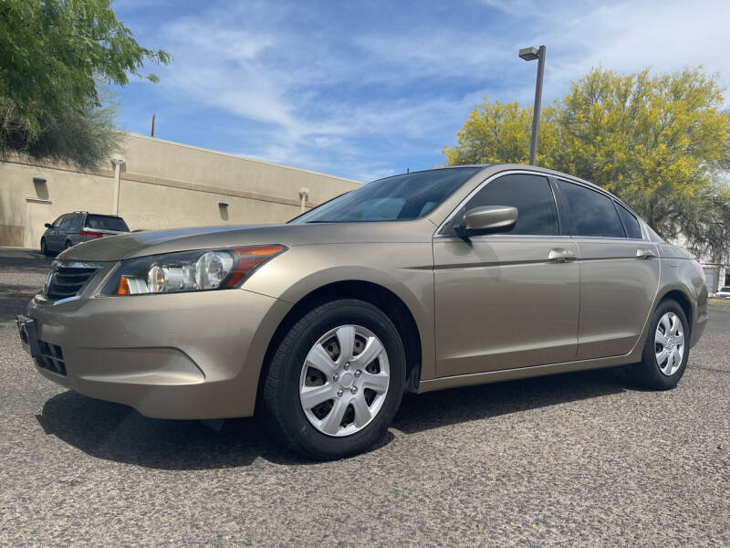 2009 Honda Accord for sale at Tucson Auto Sales in Tucson AZ