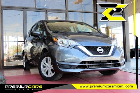 2017 Nissan Versa Note for sale at Premium Cars of Miami in Miami FL