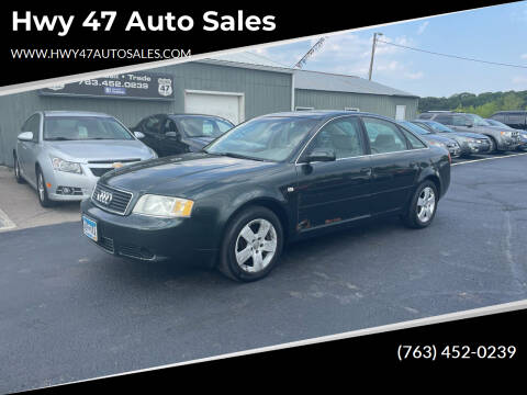 2002 Audi A6 for sale at Hwy 47 Auto Sales in Saint Francis MN