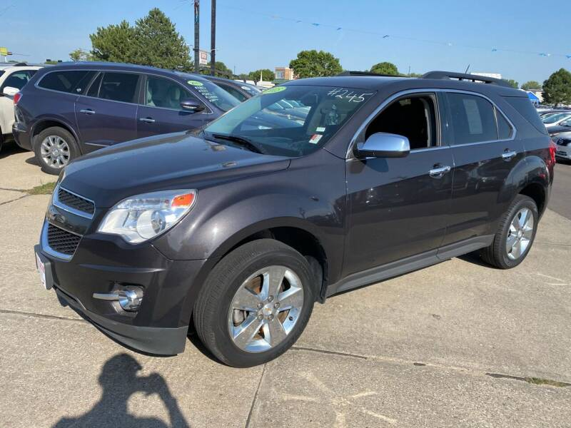 2015 Chevrolet Equinox for sale at De Anda Auto Sales in South Sioux City NE
