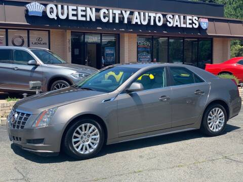 2012 Cadillac CTS for sale at Queen City Auto Sales in Charlotte NC