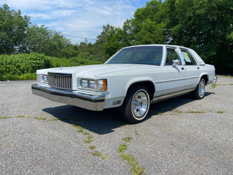 1987 Mercury Grand Marquis for sale at Clair Classics in Westford MA