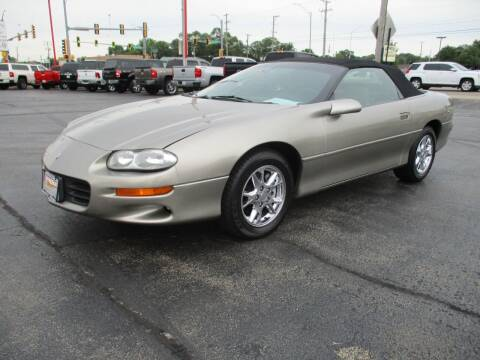 2002 Chevrolet Camaro for sale at Windsor Auto Sales in Loves Park IL