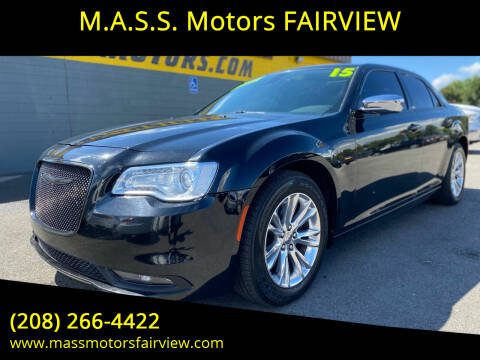 2016 Chrysler 300 for sale at M.A.S.S. Motors - Fairview in Boise ID