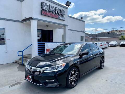 2016 Honda Accord for sale at Fastrack Auto Inc in Rosemead CA