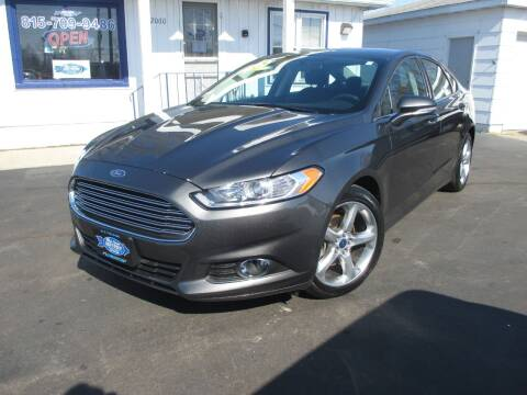 2015 Ford Fusion for sale at Blue Arrow Motors in Coal City IL