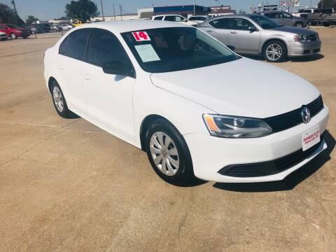 2014 Volkswagen Jetta for sale at Pioneer Auto in Ponca City OK