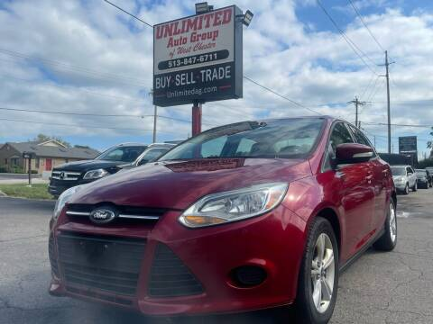 2013 Ford Focus for sale at Unlimited Auto Group in West Chester OH