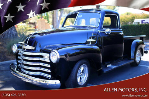 1948 Chevrolet 3100 for sale at Allen Motors, Inc. in Thousand Oaks CA