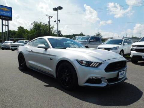 2017 Ford Mustang for sale at Radley Cadillac in Fredericksburg VA