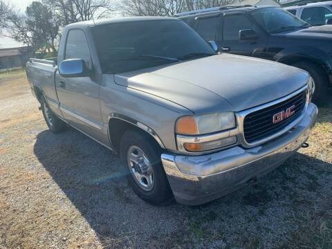 1999 GMC Sierra 1500 for sale at C & R Auto Sales in Bowlegs OK