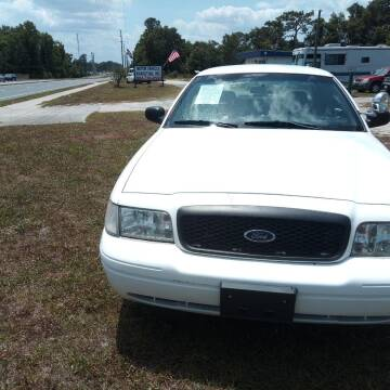 2005 Ford Crown Victoria for sale at MOTOR VEHICLE MARKETING INC in Hollister FL