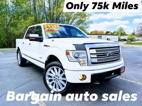 2013 Ford F-150 for sale at Bargain Auto Sales LLC in Garden City ID