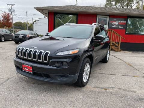 2016 Jeep Cherokee for sale at Big Red Auto Sales in Papillion NE