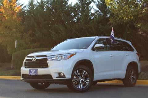 2016 Toyota Highlander for sale at Quality Auto in Manassas VA