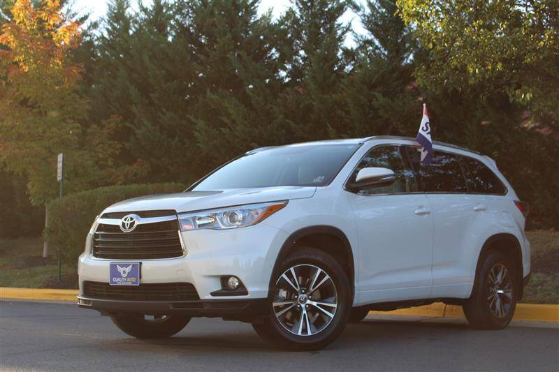 2016 Toyota Highlander for sale at Quality Auto in Sterling VA
