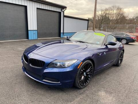 2009 BMW Z4 for sale at Sisson Pre-Owned in Uniontown PA