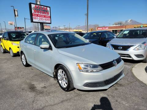 2012 Volkswagen Jetta for sale at ATLAS MOTORS INC in Salt Lake City UT