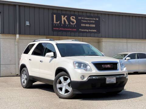 2012 GMC Acadia for sale at LKS Auto Sales in Fresno CA