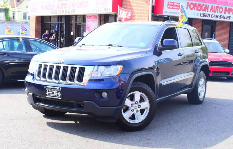 2012 Jeep Grand Cherokee for sale at Foreign Auto Imports in Irvington NJ