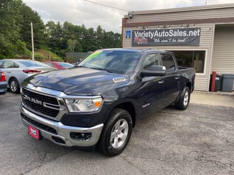2019 RAM Ram Pickup 1500 for sale at Variety Auto Sales in Worcester MA