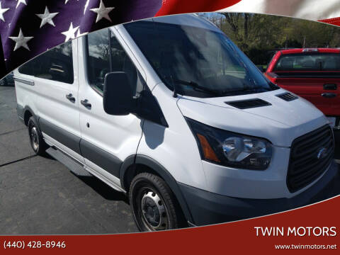 2016 Ford Transit Passenger for sale at TWIN MOTORS in Madison OH