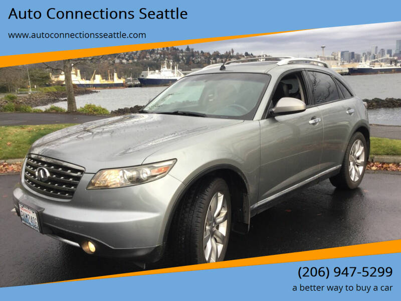 2008 Infiniti FX35 for sale at Auto Connections Seattle in Seattle WA