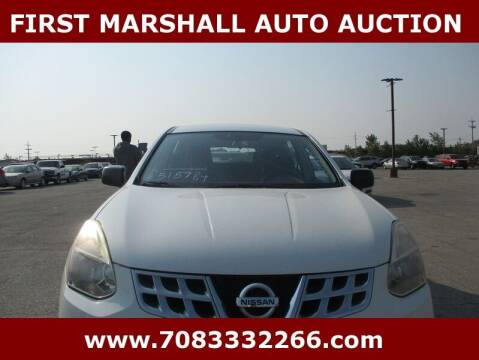 2013 Nissan Rogue for sale at First Marshall Auto Auction in Harvey IL
